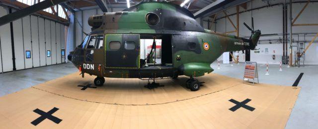 helicopter landing mat 20sqp lightweight