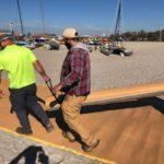 Access mats for beach