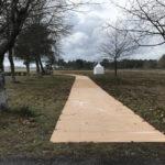 Access mats for pedestrians
