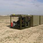 Aviation fuel farm desert, refueling equipment