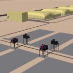 Aviation fuel farm scheme