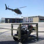 Aviation fuel transfer pump, refueling equipment