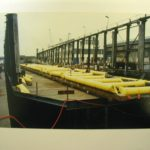 Buoyancy bags marine work