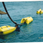 Cable laying buoyancy bag