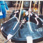 Custom inflatable pipe stopper