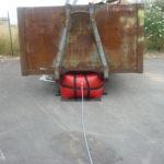 Low pressure air bag, pneumatic lifting bags