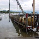 Marine work buoyancy floats, underwater lifting