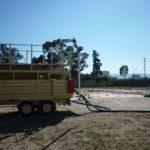 Tactical fuel farm, aircraft refueling