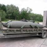 Transport fuel tank