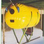 Underwater parachute