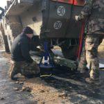 Maintenance mats for trucks